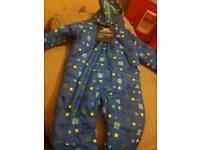 NEW WITH TAGS TRESPASS BABY SNOWSUIT 18-24 MONTHS
