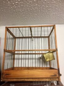 Handmade goldfinch cages for singing