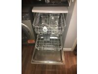 White hoover dishwasher