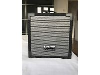 DJ Tech Cube 50 speaker for sale - mic and line inputs - suitable for DJing and live performances