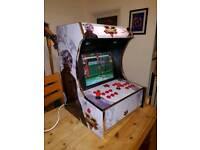 Streetfighter themed bartop arcade cab