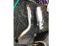 Honda hornet 600cc delkevic full stainless steel exhaust system