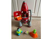 Happyland rocket set
