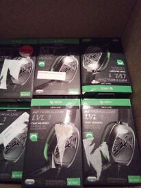 lot of Afterglow lvl 1 Xbox one headsets