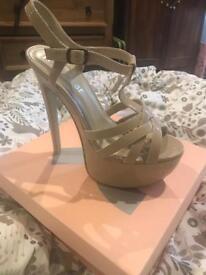 Size 5 nude heels