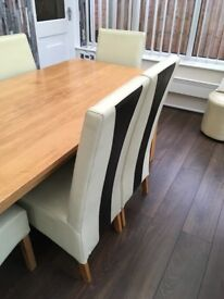 Second Hand Dining Table & Chairs