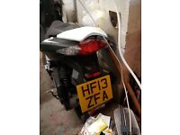 2013 Peugeot Speedfight 3 NO MOT NO Battery Needs to be Sold ASAP