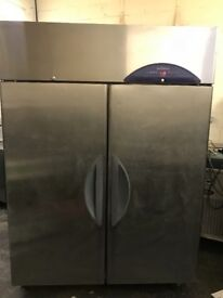 Williams commercial double doors upright freezer, catering freezer