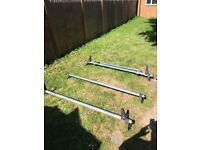 Rhino Roof Rack With Roller Bar (FORD TRANSIT)