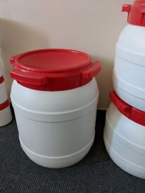Curtec wide neck Drums with Screw on Lid