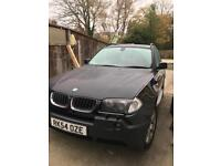 BMW X3 petrol auto sport pan roof leather