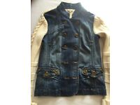Karen Millen size 12 denim jacket/cardigan