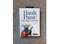 Bank Panic Sega Master System Game