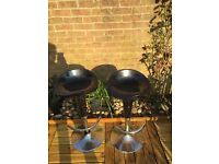 X2 kitchen bar stools