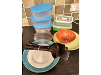 Household items for sale as a bundle