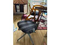 4 x 1950's dining chairs