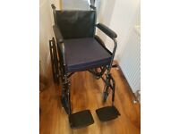 Wheelchair. Great condition. Hardly used.