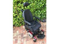 Pride Quantrum 610 Electric Wheelchair with Attendant Control