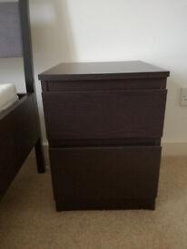 Ikea KULLEN/MALM bedside table
