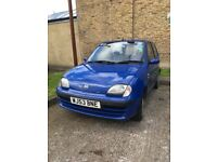 Fiat seicento with very low mileage!