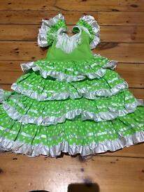 Flamenco original Spanish girls dress