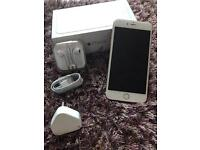 Iphone 6 plus + brand new in gold 16gb boxed unlocked with all accessories apple