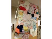Large Baby Girls clothes bundle various newborn 0-3 3-6