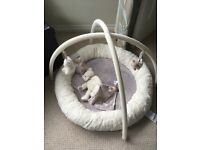 Mamas and Papas Playmat in Cream and Grey
