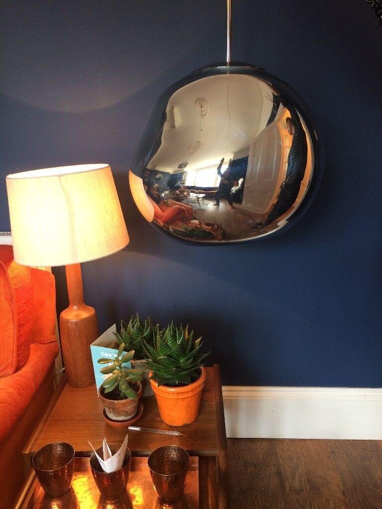 tom dixon melt pendant large ceiling light chrome in westcliff on sea essex gumtree. Black Bedroom Furniture Sets. Home Design Ideas