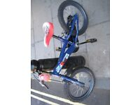 Spiderman bike USED