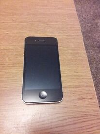 IPHONE 4s BLACK (GOOD CONDITION, VODAFONE NETWORK)