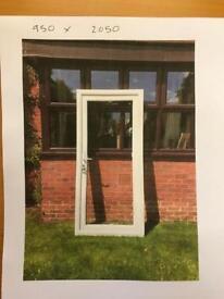 2 x UPVC Doors