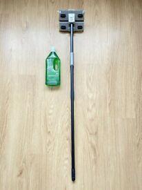 New Superdry long floor MOP sponge plus bottle KLEEN wet disinfection