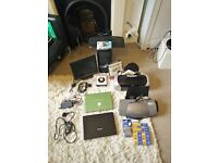 Computer Spares For Parts - old laptops, printers, unopened cartridges, PC tower, etc