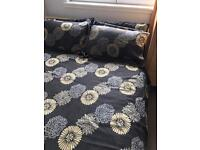Curtains and duvet/bedding set