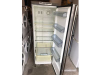 Silver AEG Stainless Steel Tall Fridge (Fully Working & 3 Month Warranty)