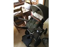 Joolz Day Earth Pram and Carrycot
