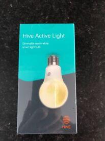 Hive active light Bulb screw fitting BNIB