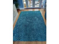 Large turqouse Rug for sale