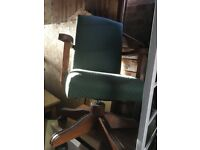 Captains antique style chair
