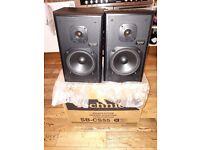 Technics 120w CS55 Stereo Speakers - Fantastic Condition - Original Box £50
