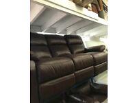 New Leather Sofa 3+1+1