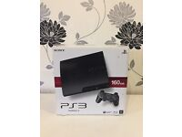 PlayStation 3 slim 160GB boxed