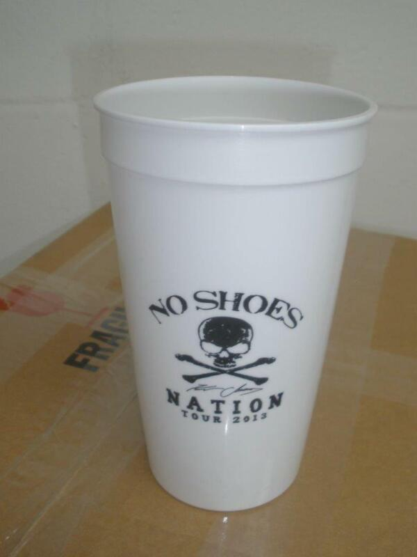LOT of 25 Kenny Chesney 2013 No Shoes Nation Tour Corona Beer Cups NEW