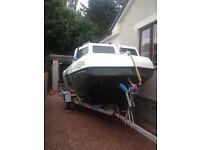 Boat Seahog with Yamaha 60 auto lube