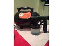 Compact airbrush tanning machine with heat function. (NaturaSun)