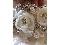 Light Ivory wedding dress belt