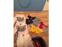 Boys pants and vest bundle