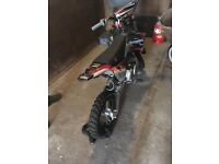 Stomp demon X 125 motorbike