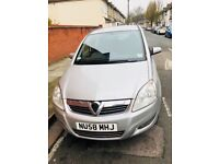 1 OWNER,58 PLATE Vauxhall Zafira 1.8 i 16v Exclusiv 5dr.VERY GOOD RUNNER. HPI CLEAR. 12 MONTHS MOT.